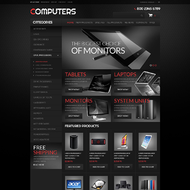 Купить  пофессиональные ZenCart шаблоны. Купить шаблон #51350 и создать сайт.