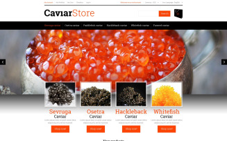 Sell Buy Caviar Magento Theme