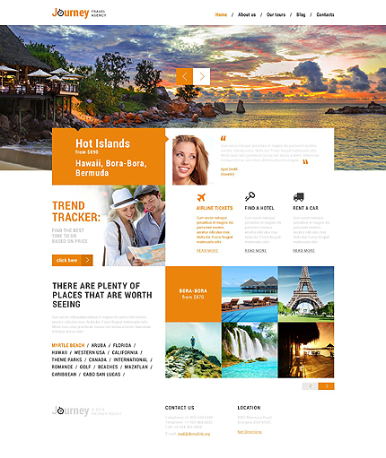WordPress Theme/Template 51358 Main Page Screenshot