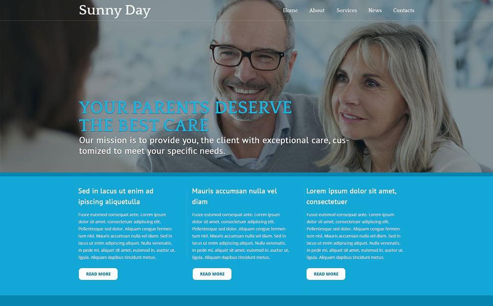 Адаптивный Joomla шаблон №51361 на тему пенсионное планирование New Screenshots BIG