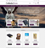 Religious VirtueMart  Template 51365