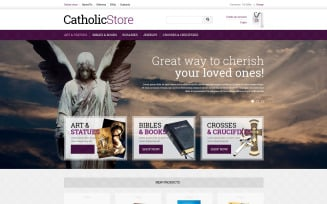 Catholic Gifts VirtueMart Template