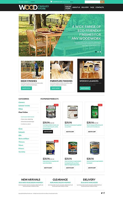 ADOBE Photoshop Template 51366 Home Page Screenshot