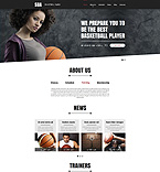Sport Website  Template 51369