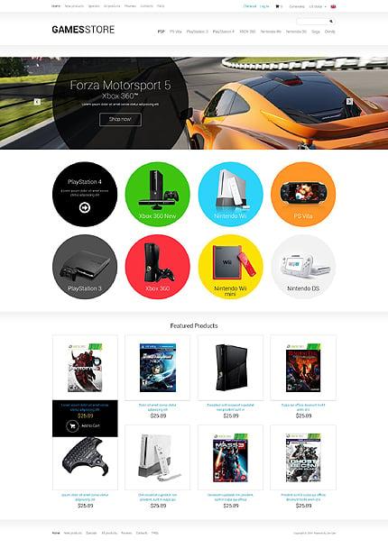 ZenCart Template 51374 Main Page Screenshot