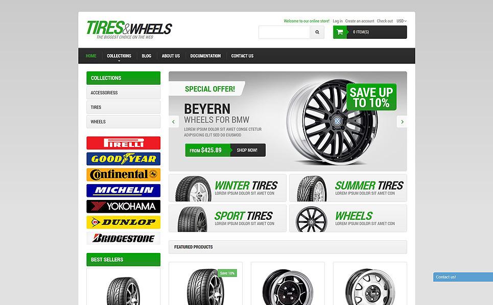 Responsives Shopify Theme für Räder & Reifen  New Screenshots BIG