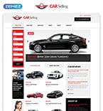 Cars Website  Template 51380