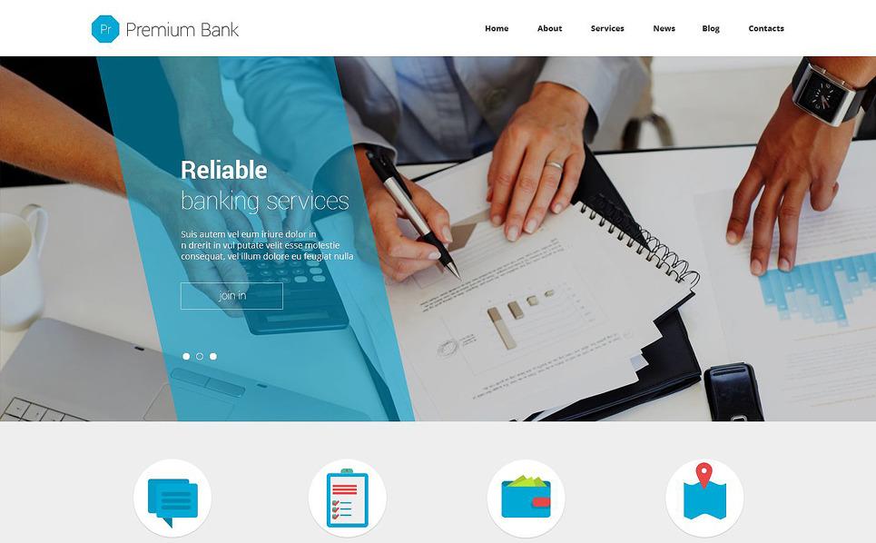 Reszponzív Bankok Joomla sablon New Screenshots BIG