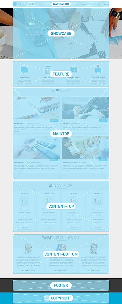 Joomla Theme/Template 51395 Main Page Screenshot