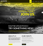 Sport Website  Template 51396