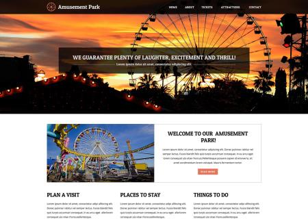 Amusement Park Responsive