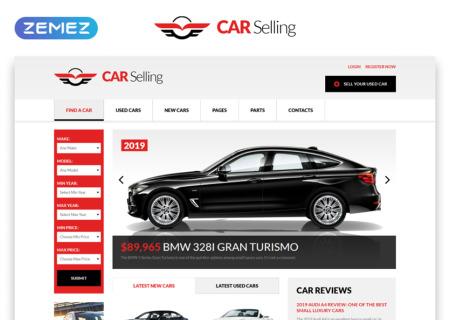 Car Dealer Responsive