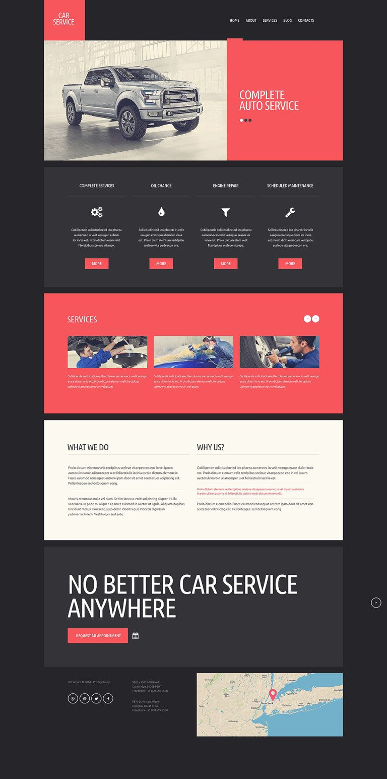 Car Repair Responsive Website Template New Screenshots BIG