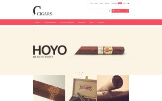 Cigars PrestaShop Theme