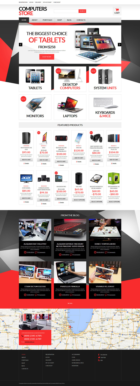 Computer Hardware WooCommerce Theme New Screenshots BIG