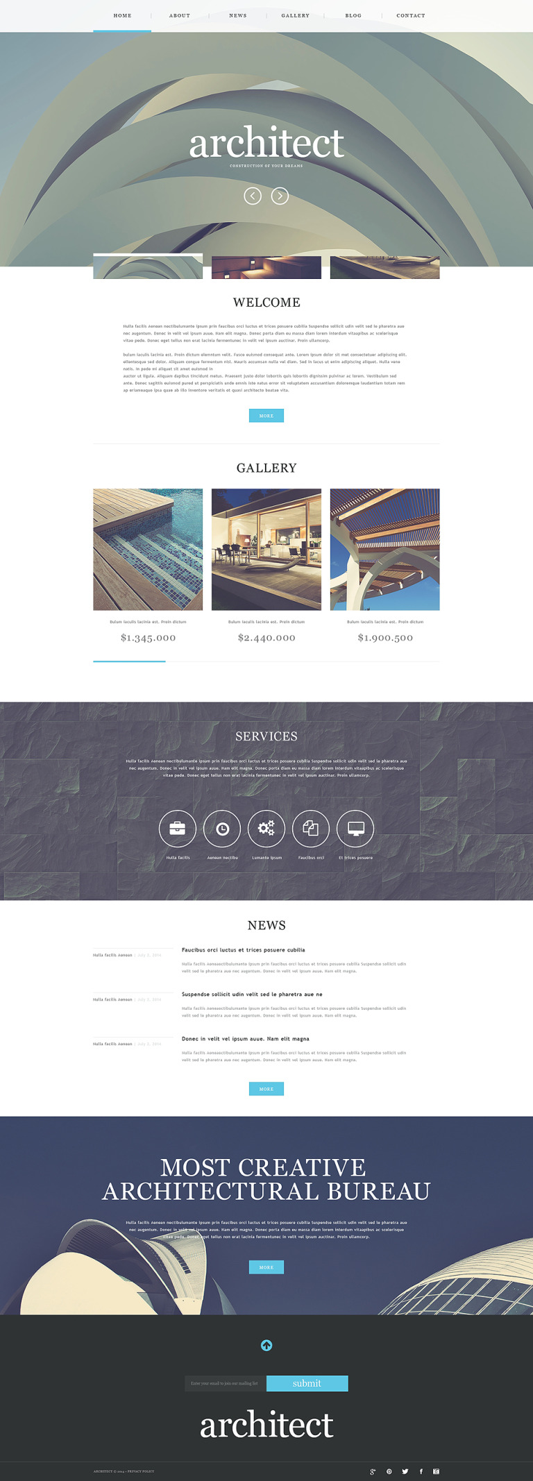 Construction Company Muse Template New Screenshots BIG