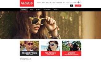 Eye Glasses VirtueMart Template