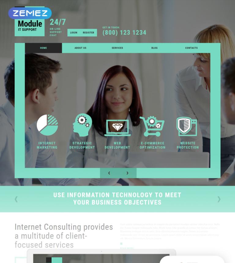 IT Company Joomla Template