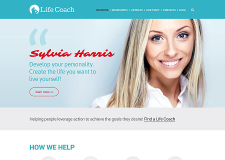 Life Coach Responsive