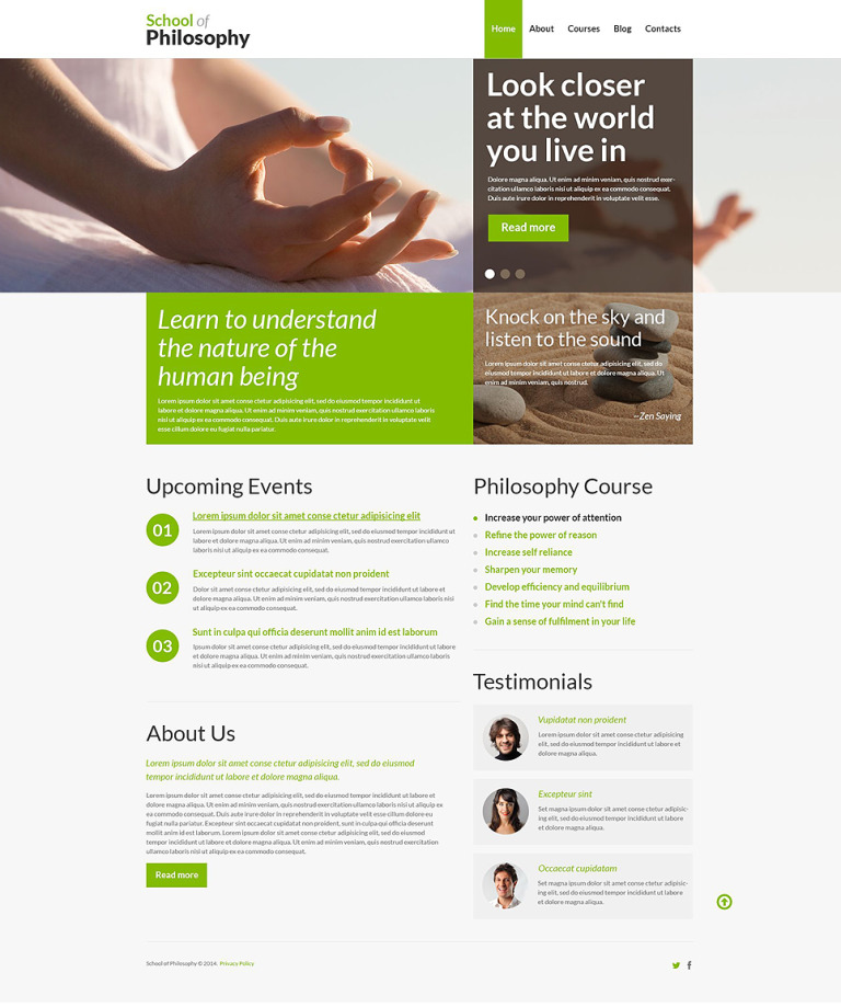 Life of Joy WordPress Theme New Screenshots BIG