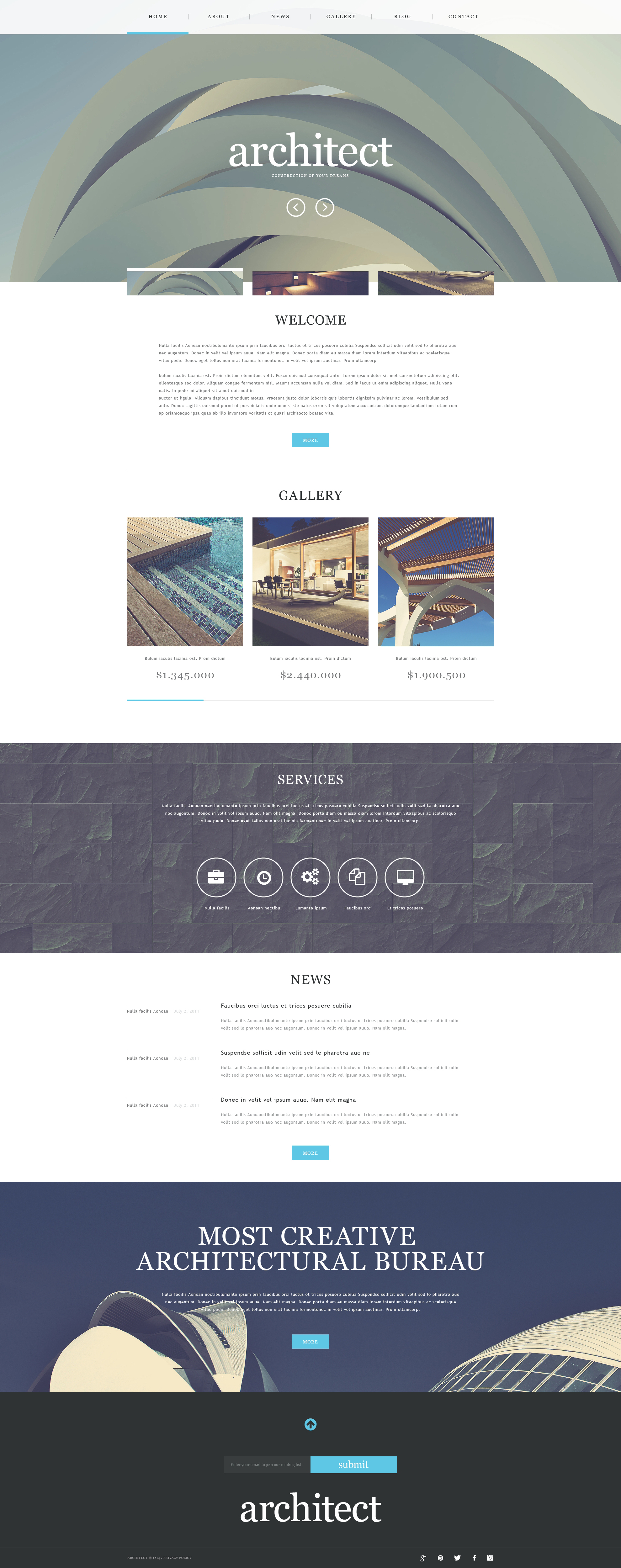 Muse Template over Bouwbedrijf №51317
