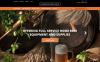 """Pro Beer Brewing"" Responsive Magento Thema New Screenshots BIG"