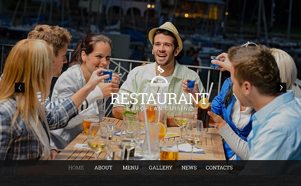 Responsive European Restaurant Templates Wordpress Teması New Screenshots BIG