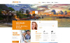 Responsive WordPress thema over Reisbureau  New Screenshots BIG