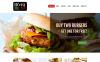 Reszponzív Kávézók és éttermek  Joomla sablon New Screenshots BIG