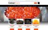 Reszponzív Tenger gyümölcseit kínáló étterem  Magento sablon New Screenshots BIG