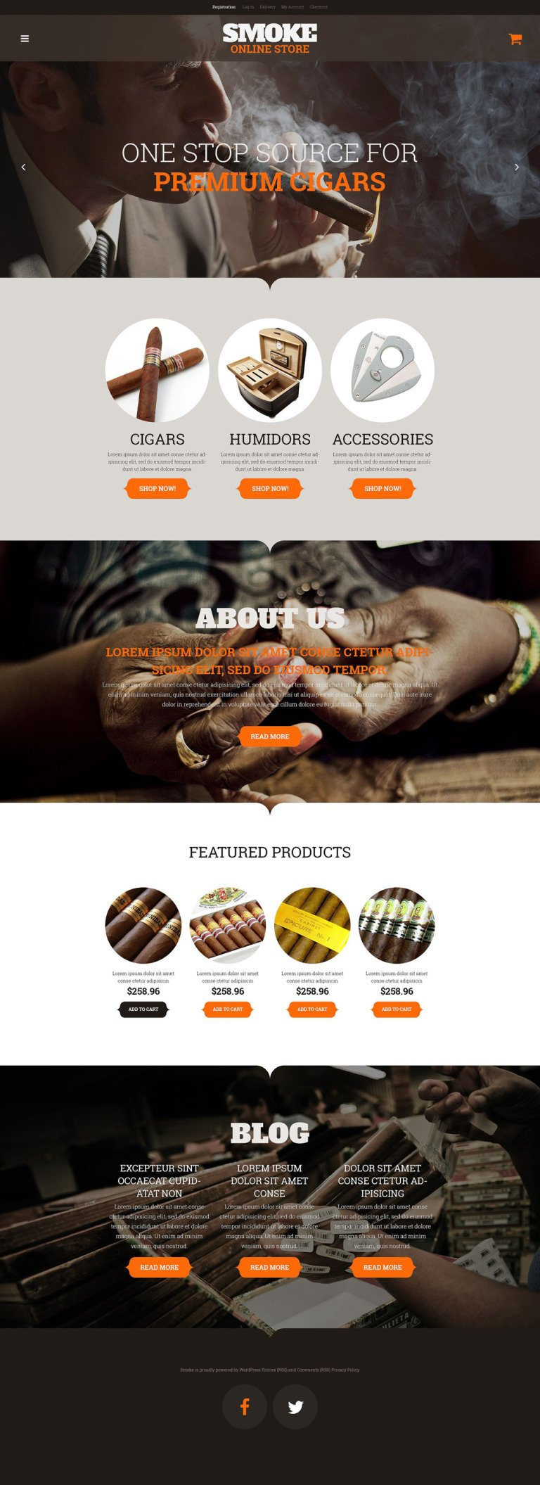 Smoke Shop WooCommerce Theme New Screenshots BIG