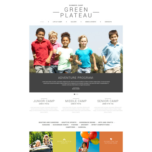 Green Plateau - Joomla! Template based on Bootstrap