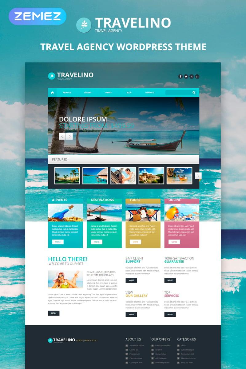 Tema de WordPress #51349 para Sitio de Agencias de viajes