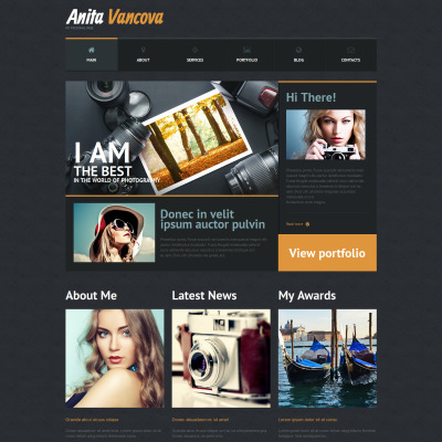 Tema de WordPress #51302 para Sitio de Páginas personales