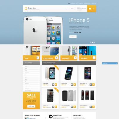 Tema Shopify #51378 para Sitio de Tienda de Móviles