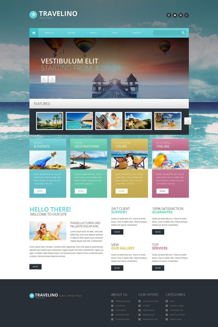 Travel Agency Responsive WordPress Theme New Screenshots BIG