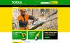 VirtueMart шаблон №51330 на тему инструменты и оборудование New Screenshots BIG