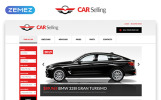 "Website Vorlage namens ""Car Selling - Car Dealer Multipage Clean HTML"""