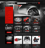 Cars PrestaShop Template 51404