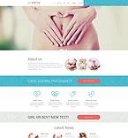 Medical Website  Template 51406