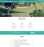 Travel Website  Template 51407
