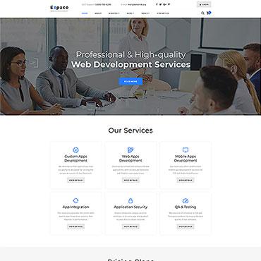 Купить  пофессиональные Bootstrap и html шаблоны. Купить шаблон #51408 и создать сайт.