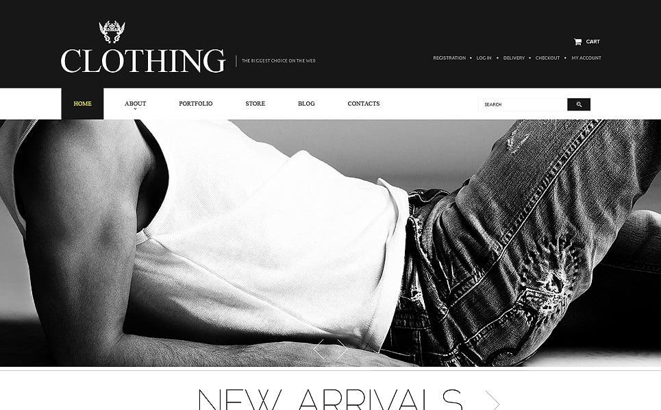 Szablon PSD #51410 na temat: odzież New Screenshots BIG