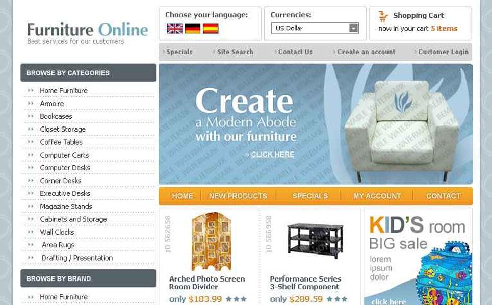 OsCommerce Vorlage New Screenshots BIG