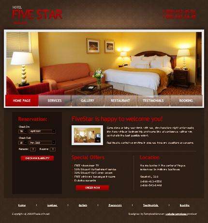 ADOBE Photoshop Template 51453 Home Page Screenshot