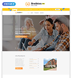 Education Website  Template 51480