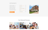 Free Education Website Template Website Template