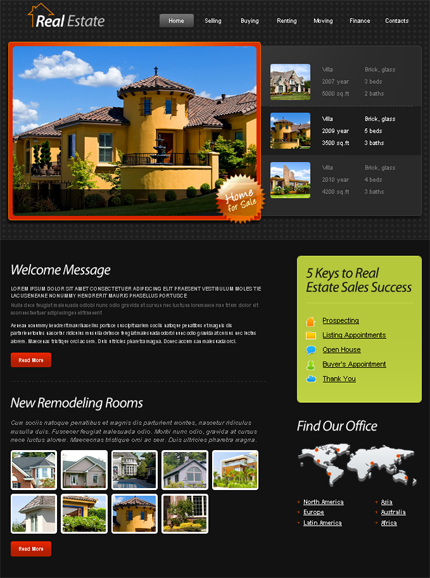 ADOBE Photoshop Template 51487 Home Page Screenshot