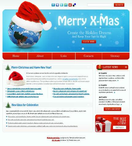 ADOBE Photoshop Template 51498 Home Page Screenshot