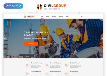 Civil Engineering Responsive